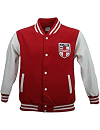 Childrens - Boys / Girls Unisex Red/White England World Cup Winners 1966 Vintage / Retro Football Jacket 3-4 upto 12-13 years FREE POSTAGE