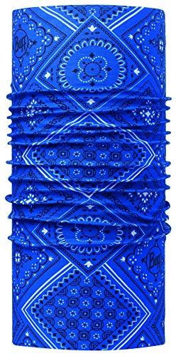 Original Buff 113060.707.10.00 Tubular de Microfibra, Hombre, Azul, Talla Única