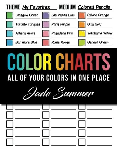 Color-test (Color Charts: 50+ Coloring Charts to Organize Your Color Schemes, Test Your Supplies Before You Color, and Find the Perfect Colors for Every Project!)