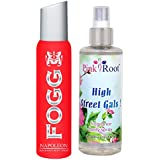 Fogg Napoleon Fragrant Body Spray 100ml And Pink Root High Street Gals Fragrance Body Spray 200ml Pack Of 2