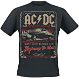 AC/DC Highway To Hell - Speed Shop T-Shirt schwarz