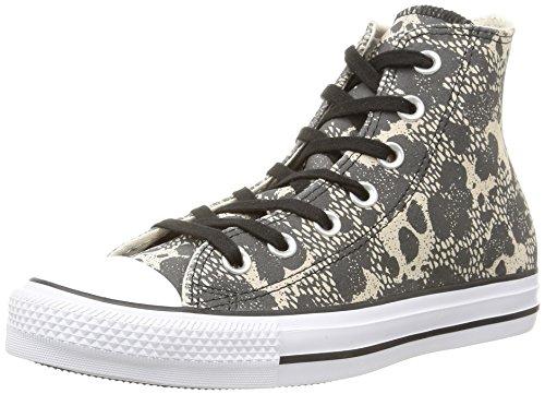 Converse - Ctas Animal Hi, Sneakers Alte da donna, beige (écru/noir), 37