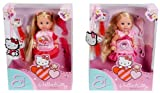 Simba 105730284 - Evi Love Hello Kitty Hairplay, 2-sortiert
