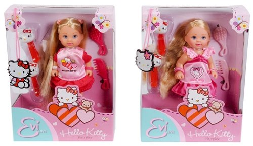 EVI 105730284 - Evi Love, Hello Kitty Hairplay