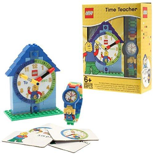 LEGO 9005008 Time Teacher Boy Kids' Minifigure Link Watch & Constructible Clock