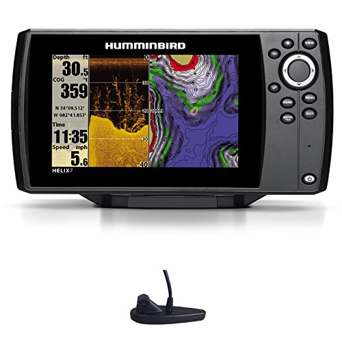 Humminbird Helix 7 DI GPS Down Imaging Echolot Seekartenplotter Combo Festmontage