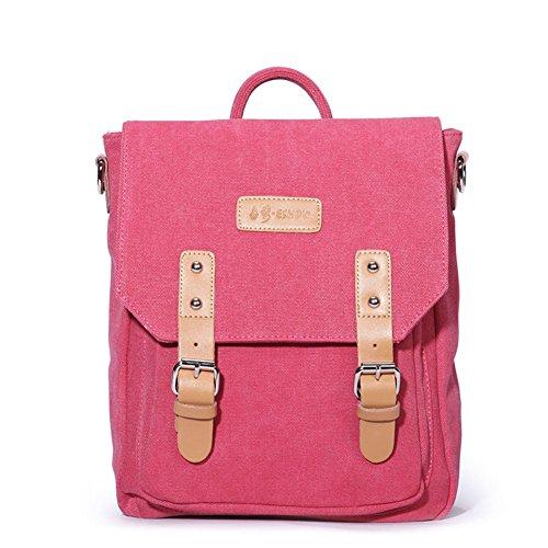 Koreanischen Stil Rucksack/Casual Canvas Umhängetasche/Fashion Schultaschen-A A