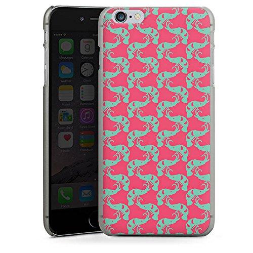 Apple iPhone 5 Housse Outdoor Étui militaire Coque Crevettes Mer Motif CasDur anthracite clair