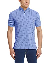 Blackberrys Mens Polo (8907196449472_TSARCERNYBM16BTX44_44_Air Blue)