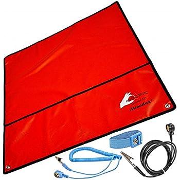 Minadax® 60 x 60cm Antistatik-Set: Antistatikmatte: Amazon.de ...