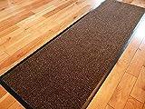 TrendMakers Dirt Stopper Carpet Runner 60cm x 160cm Grey/Black.With Non-Slip Back RRP £29.99
