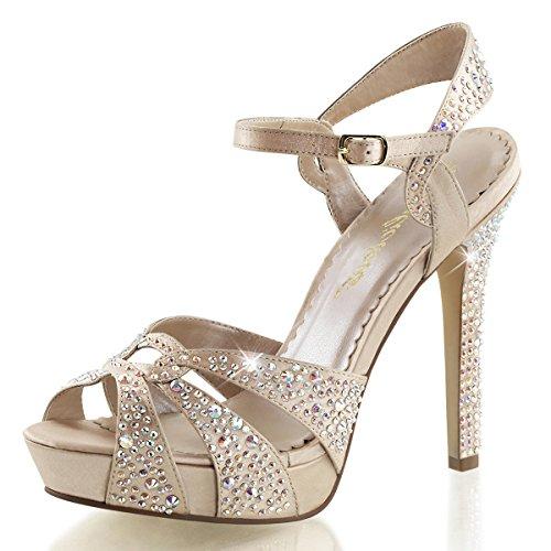 Higher-Heels Fabulicious Sandaletten Lumina-23 champagne Gr. 41,5