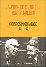 Correspondance, 1935-1980 de Lawrence Durrell