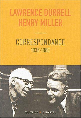 Correspondance, 1935-1980