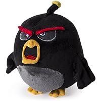 Angry Birds Bombe Plüschfigur 12 cm Plüsch Stofftier Beanie Schwarz