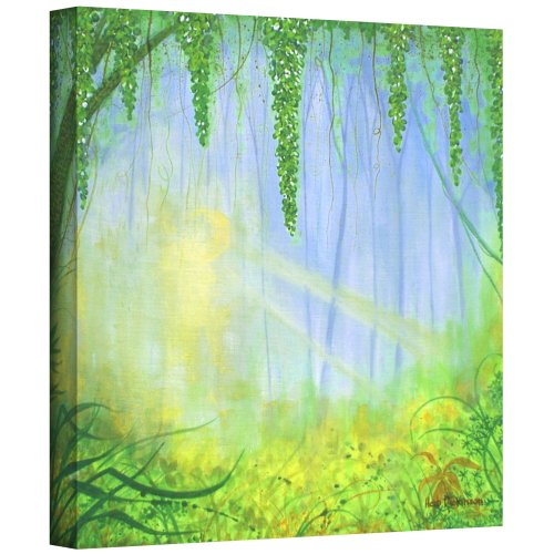 art-wall-morning-rays-by-herb-dickinson-gallery-wrapped-canvas-artwork-24-by-24-inch