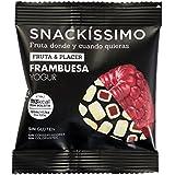 Snackíssimo Snack de Frambuesa Yogur - Pack de 15 bolsas 375 gr