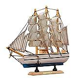 Gosear 24cm Pino Madera Náutica Barco Modelo de Barco Marítimo/Servicio Casa de...