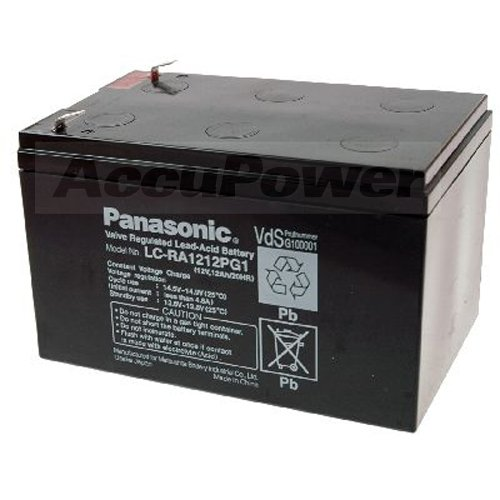 Batterie Plomb (AGM) 12 V 12 Ah Panasonic 12 V 12 Ah