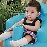 Siège gonflable pour bébés en position assise - jouet et accessoire pour le bain - bateau pour...