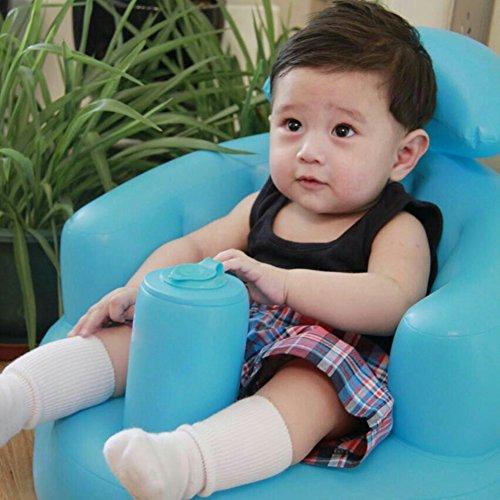 Asiento Seguro para bebé, Paso a Aprender a inflar,...
