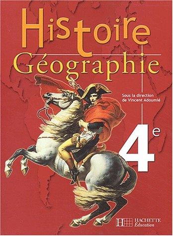 Histoire-Géographie, 4e (Manuel)
