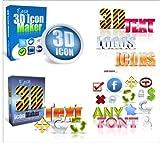 Produkt-Bild: Trend Easy 3D ICON Paket V1 + V2 - Logo + Text- Maker
