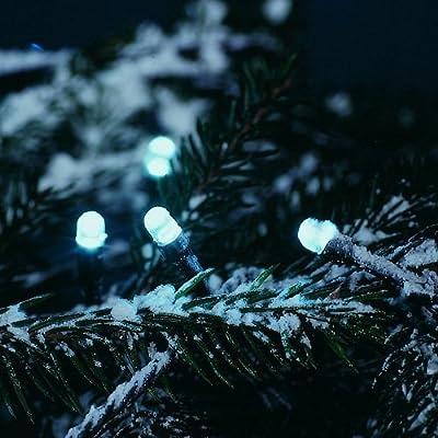 Konstsmide 3120-200 LED Lichterkette 120er kaltweiss aussen 17,85m