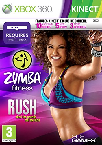Xbox 360 Kinect Zumba Rush - 360 Zumba