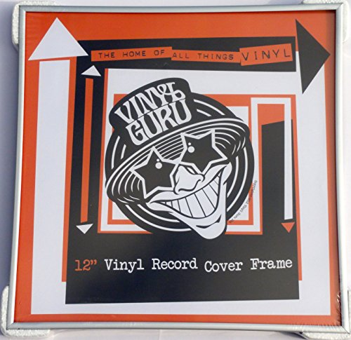 Lp Record Frame (Raw unbeschichtet Aluminium 30,5cm Zoll Vinyl Record Album LP Rahmen–Silber Farbe)