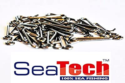 SeaTech Sea Fishing Rig Snaps - Lead Links with Bait Clip x 50 from SeaTech