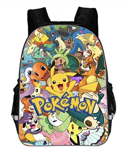 Rucksack Pokemon Kind Kinder 33cmx29cm Pikachu