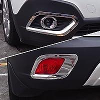 4 carcasas para Mokka 2013 2014 2015 luces de coche ABS que se ajustan a los