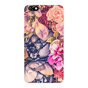 NEO WORLD Flower Paint Back Case Cover for Honor 4X