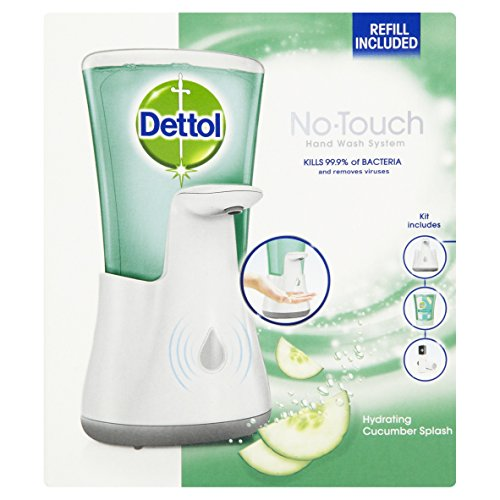 Dettol No Touch Hand Wash System, Hydrating Cucumber Splash 250 ml by Dettol