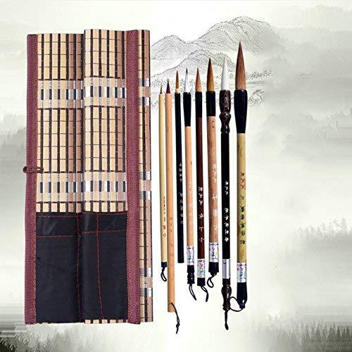Chinesische Pinsel professionelle Kalligraphie Malerei, Ein Satz mit 8 Pinsel