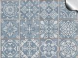 Tile Style Decals Fliesenaufkleber für Bad und Küche 24 stück