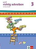 Einfach richtig schreiben / Arbeitsheft Vereinfachte Ausgangsschrift 3. Schuljahr: mit Clown Charlie