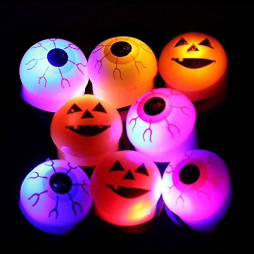 iche Augen Kürbis Lichter/Töpferei Dekorative Versorgung/Eingebaute LED-Leuchten/Ghost Face Kürbis Schädel (Kürbismodelle) (Top 10 Halloween-film-zeichen)