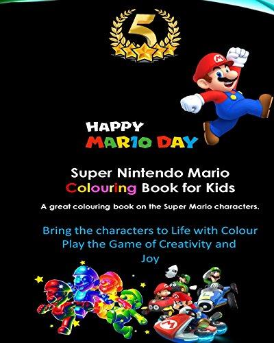 Super Nintendo Mario Colouring Book for Kids: Mario, Luigi, Princess Peach, Toad, Yoshi, Baby Luma, Birdo, Diddy Kong and others por Zack Scott Games