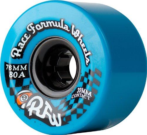 Sector 9Race Formula 76mm Longboard Skateboard-Räder, blau (80A) 76mm