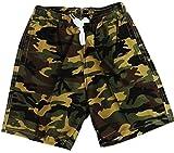 VanessasShop Camouflage Jungen Badeshorts in den Größen 98-158 (122-128)
