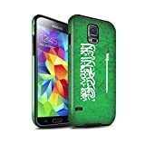 Stuff4 Gloss Tough Shock Proof Phone Case for Samsung Galaxy S5/SV/Saudi Arabia/Arabian Design/Asian