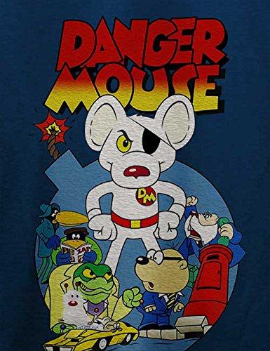 Danger Mouse T-Shirt Navy Blau