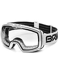 Briko nyira 7,6Photo, gafas de protección unisex–adultos, a91matt/blanco/phg13, un tamaño