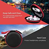 JoyGo Headphone Case, Mini Earphone Case Hard Protective with Waterproof Travel Carrying Earbuds Case for Headphones Headset MP3 - Red from JoyGo