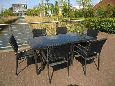 Gartenmöbel 8teiliges Gartenmöbel-Set Gartengarnitur-Set GM8PRS90