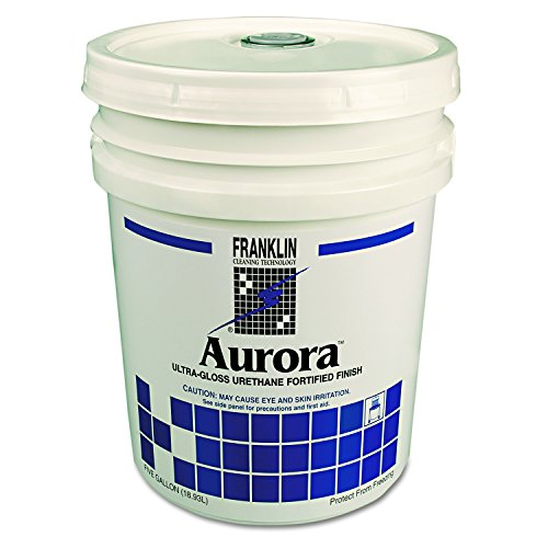 Aurora Ultra Gloss Fortified Floor Finish, 5 gal Pail, Sold as 1 Each