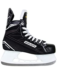 Bauer Schlittschuhe Supreme 140 - Senior - Patines de hockey sobre hielo, color negro, talla 08.0 / 43.0