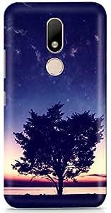 PCM High Quality Printed Designer Polycarbonate Hard Back Cover for Motorola Moto M - Matte Finish - Color Warranty- 01370